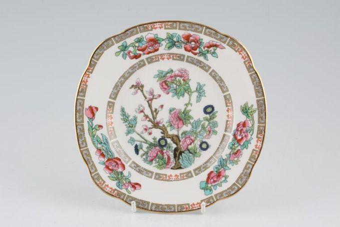 "Duchess Indian Tree Tea / Side Plate squarish edge 6 1/8"""