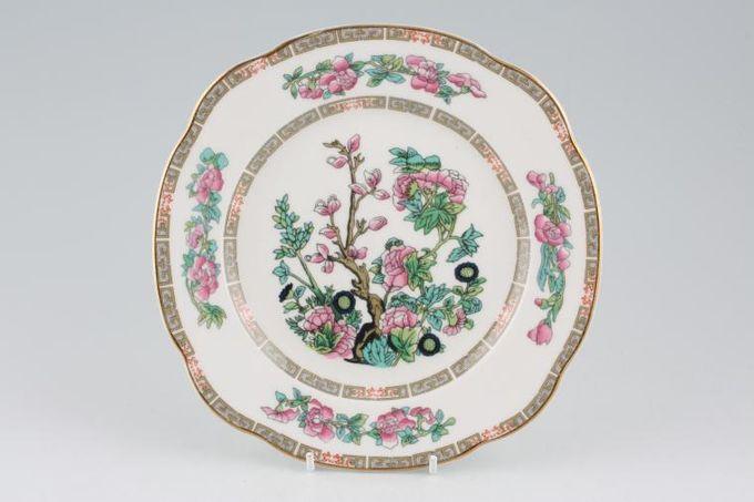 "Duchess Indian Tree Dessert / Salad Plate Squarish Edge 8"""