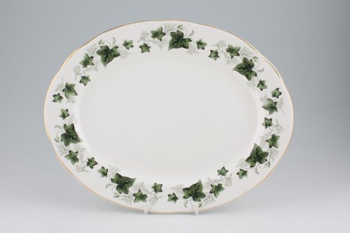 """Duchess Ivy Oval Plate / Platter 13 1/2"""""""