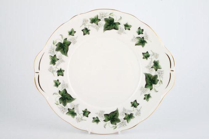 Duchess Ivy Cake Plate Round