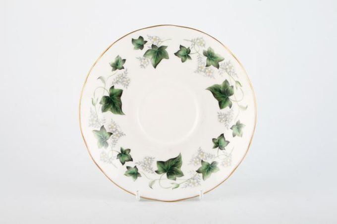 """Duchess Ivy Breakfast Saucer Also soup cup saucers 6"""""""