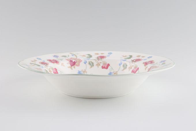 """Duchess Jacobean Rimmed Bowl 8 1/2"""""""