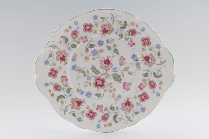 "Duchess Jacobean Cake Plate eared 10 1/8"""