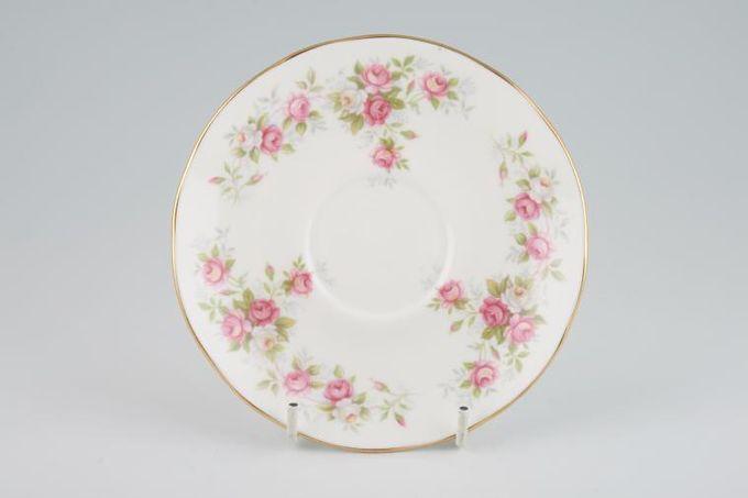 """Duchess June Bouquet Tea Saucer Flatter 5 5/8"""""""