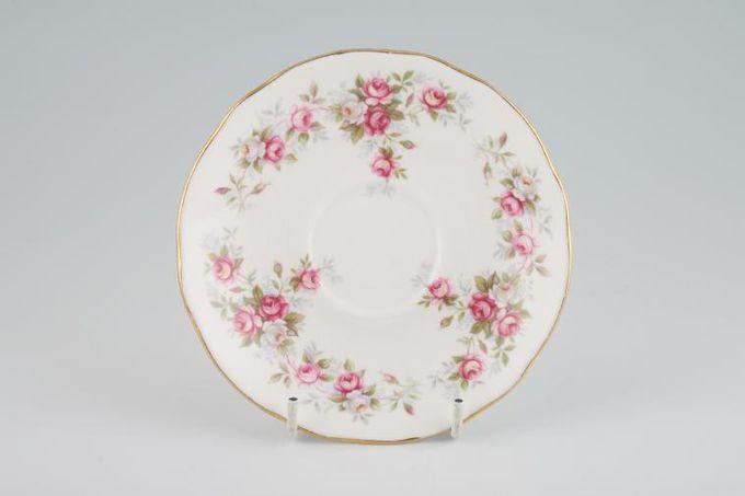 """Duchess June Bouquet Tea Saucer Deeper 5 1/2"""""""