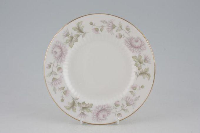 """Duchess Morning Mist Tea / Side Plate Straight edge - Ribbed Inside 6 1/2"""""""