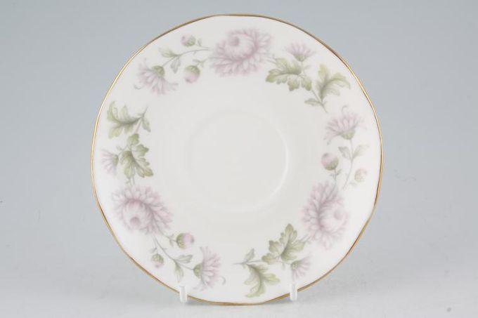 """Duchess Morning Mist Tea Saucer Wavy edge 5 5/8"""""""