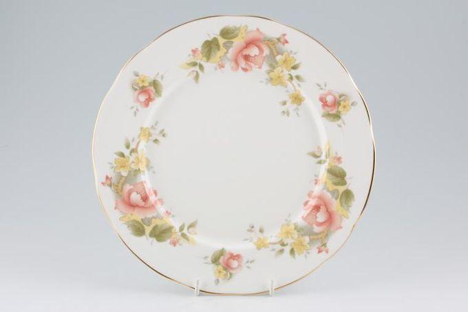 "Duchess Peach Rose Dinner Plate 10 1/2"""