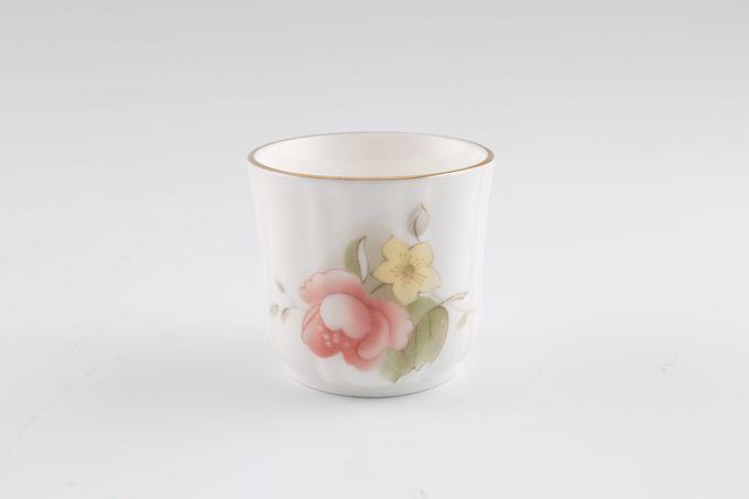 Duchess Peach Rose Egg Cup