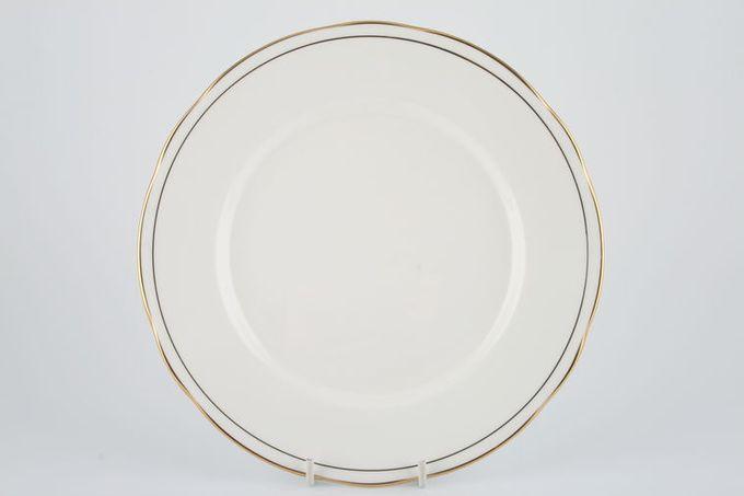 """Duchess Ascot - Gold Dinner Plate 10 3/8"""""""