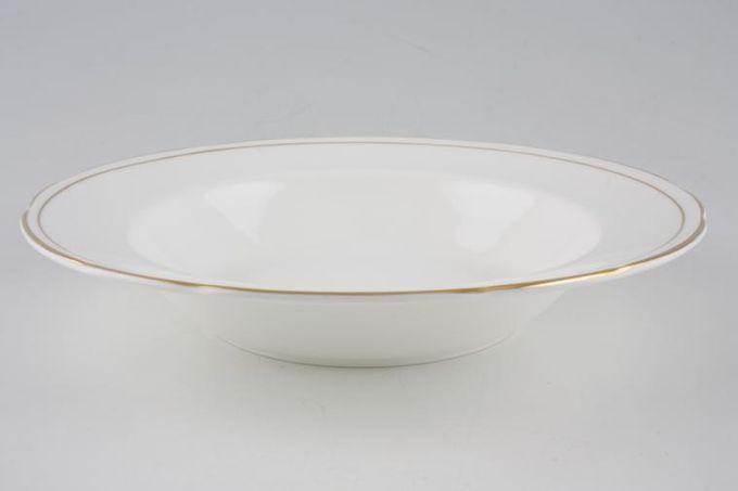 """Duchess Ascot - Gold Rimmed Bowl 8 5/8"""""""
