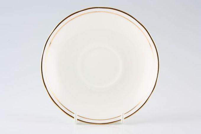"""Duchess Ascot - Gold Breakfast Saucer 6"""""""