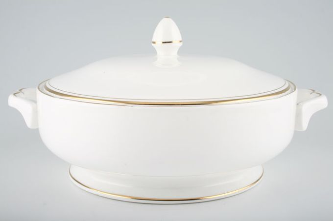 Duchess Ascot - Gold Vegetable Tureen with Lid Tall knob