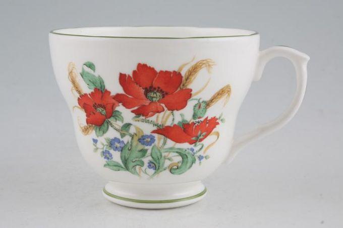 "Duchess Poppies Breakfast Cup 3 7/8 x 3 1/8"""