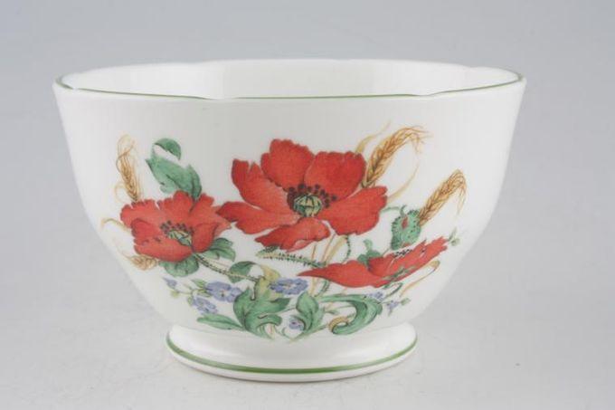 "Duchess Poppies Sugar Bowl - Open (Tea) 4 1/2"""