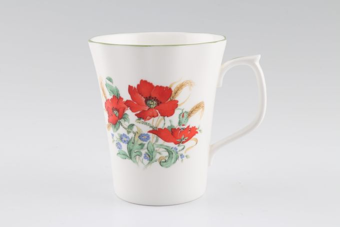 """Duchess Poppies Mug 3 1/2 x 4"""""""