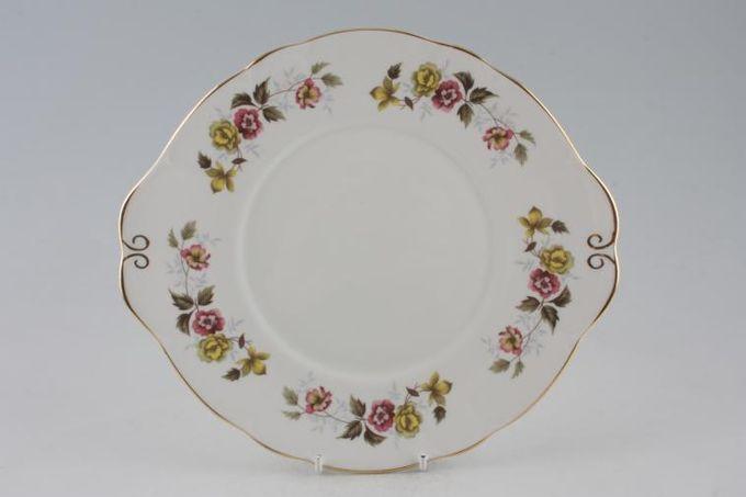 "Duchess Romance Cake Plate eared 9 7/8"""