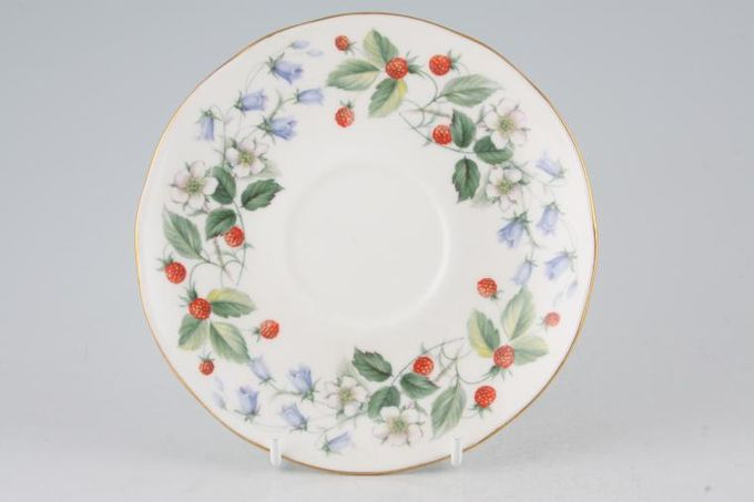 Duchess Strawberryfields Tea Saucer 5 1/2""