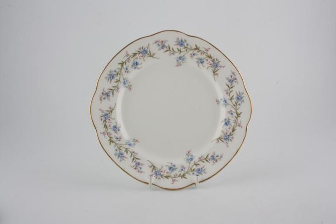"""Duchess Tranquility Tea / Side / Bread & Butter Plate Square 6"""""""