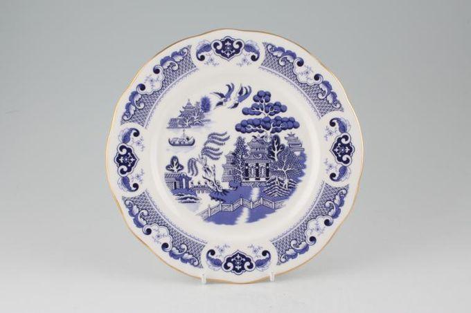 """Duchess Willow - Dark Blue Dessert / Salad Plate 8 3/8"""""""