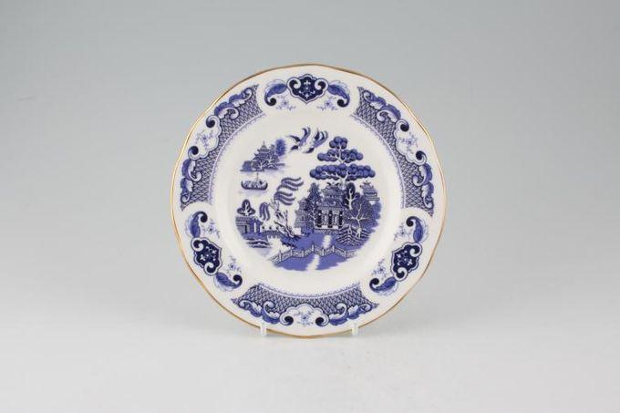 "Duchess Willow - Dark Blue Tea / Side Plate 6 1/2"""