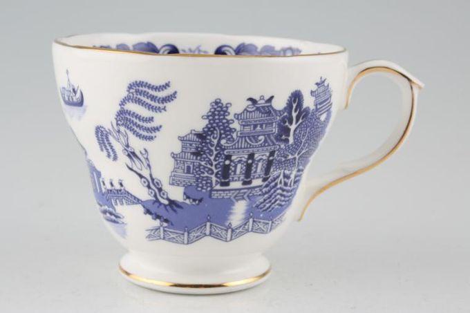 "Duchess Willow - Dark Blue Teacup 3 1/2 x 2 7/8"""