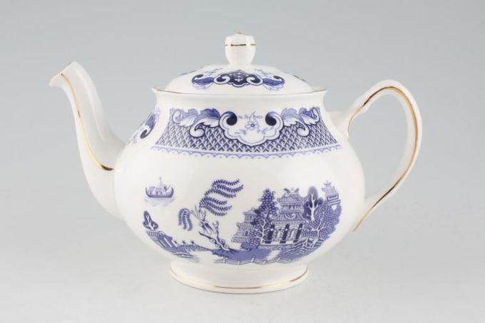 Duchess Willow - Dark Blue Teapot Shape 1 1pt