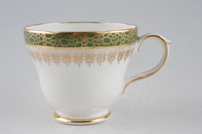 """Duchess Winchester - Green Teacup 3 1/4 x 2 3/4"""""""