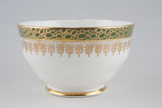 """Duchess Winchester - Green Sugar Bowl - Open (Tea) 4 3/8"""""""