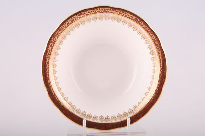 """Duchess Winchester - Burgundy Soup / Cereal Bowl 6 1/2"""""""