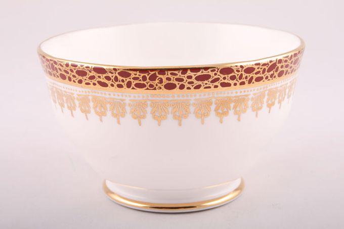 "Duchess Winchester - Burgundy Sugar Bowl - Open (Tea) 4 5/8"""