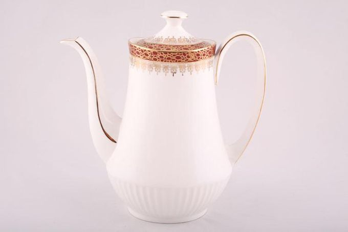 Duchess Winchester - Burgundy Coffee Pot Ribbed 2 1/2pt