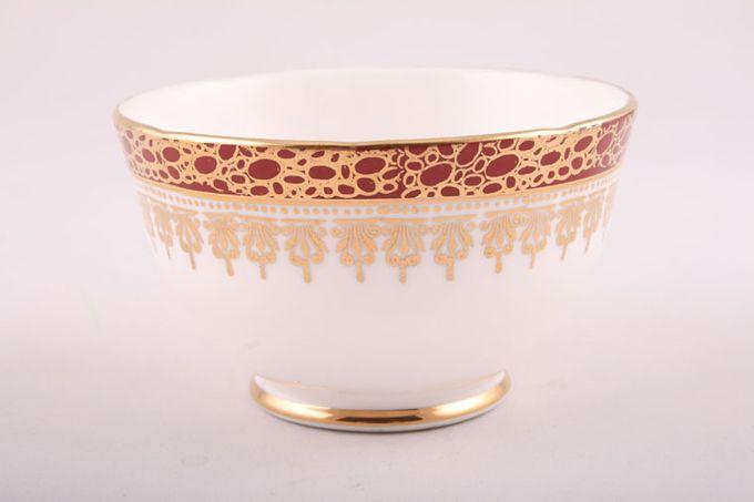 "Duchess Winchester - Burgundy Sugar Bowl - Open (Coffee) 3 5/8"""