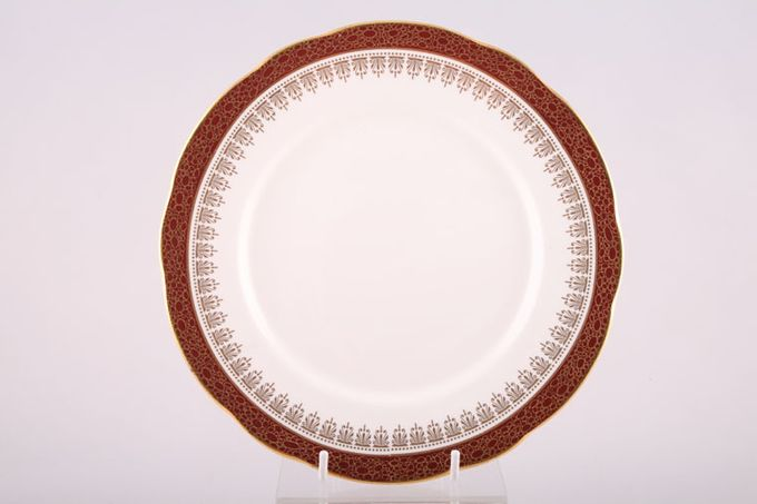 "Duchess Winchester - Burgundy Dessert / Salad Plate 8 1/4"""