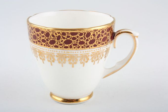 "Duchess Winchester - Burgundy Coffee Cup 2 1/2 x 2 3/8"""