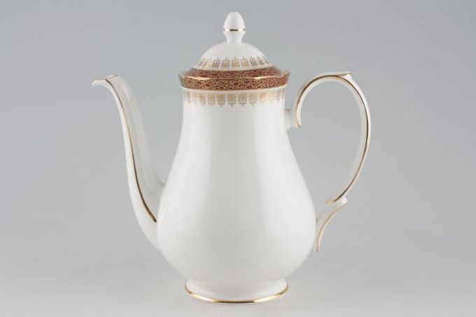 Duchess Winchester - Burgundy Coffee Pot Smooth, Rounded 2 1/2pt