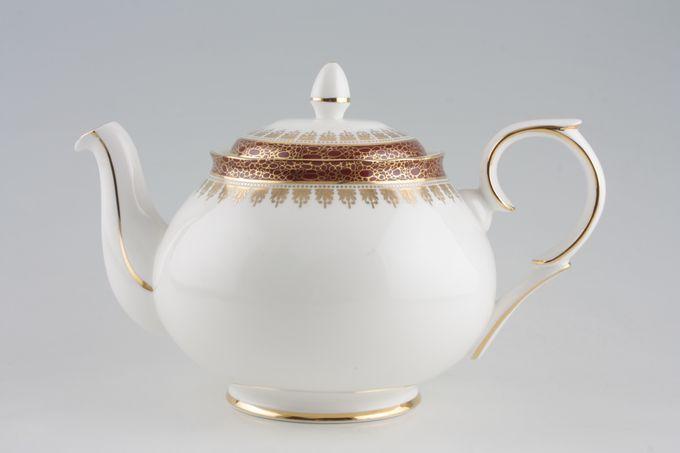 Duchess Winchester - Burgundy Teapot Round handle 1 3/4pt