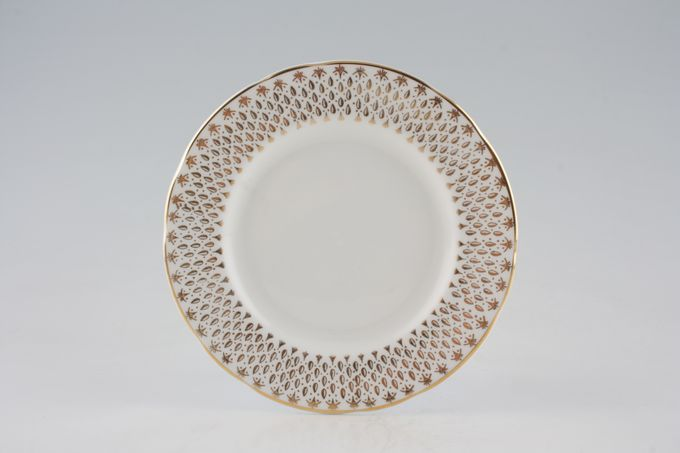 "Duchess Raindrops Tea / Side Plate Round 6 1/2"""