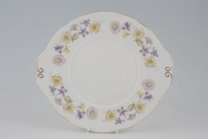 "Duchess Spring Days Cake Plate Round 10"""