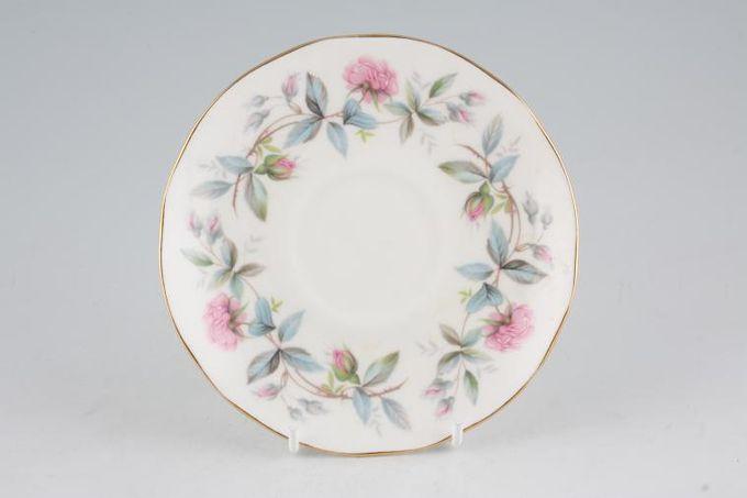 "Duchess Bramble Rose Tea Saucer 5 5/8"""