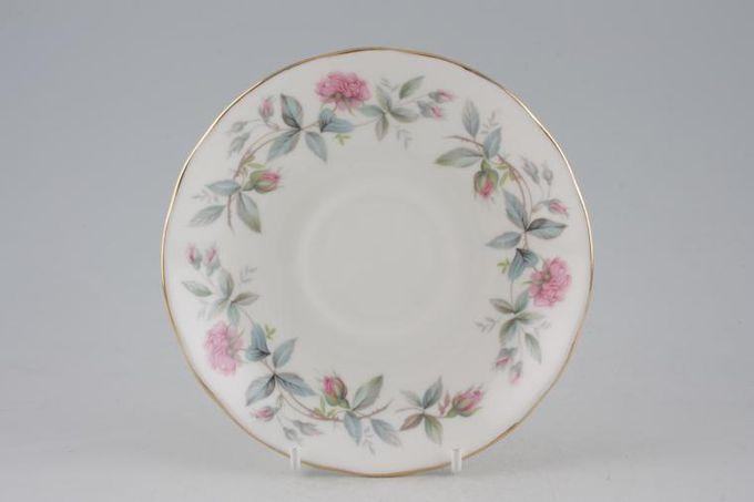 "Duchess Bramble Rose Breakfast Saucer 6"""