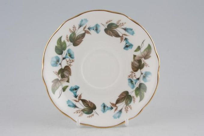 "Duchess Morning Glory Tea Saucer 5 1/2"""
