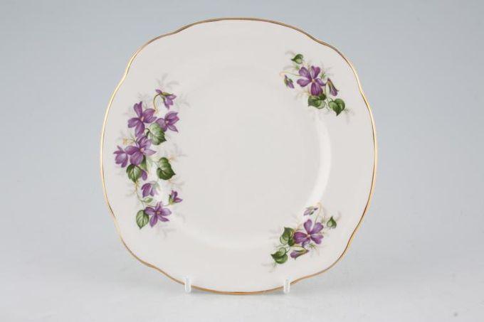 "Duchess Violets Tea / Side Plate 6 1/2"""