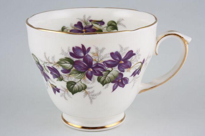 """Duchess Violets Teacup 3 3/8 x 2 7/8"""""""