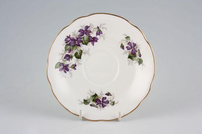 """Duchess Violets Tea Saucer 5 1/2"""""""
