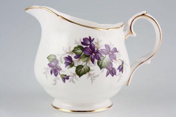 Duchess Violets Milk Jug 1/2pt