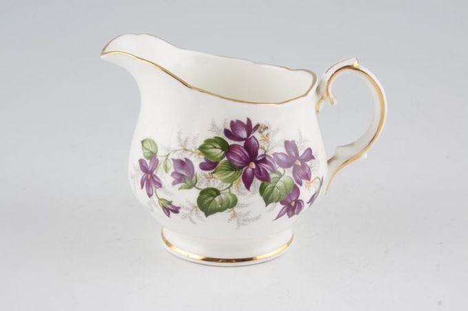 Duchess Violets Cream Jug 1/4pt