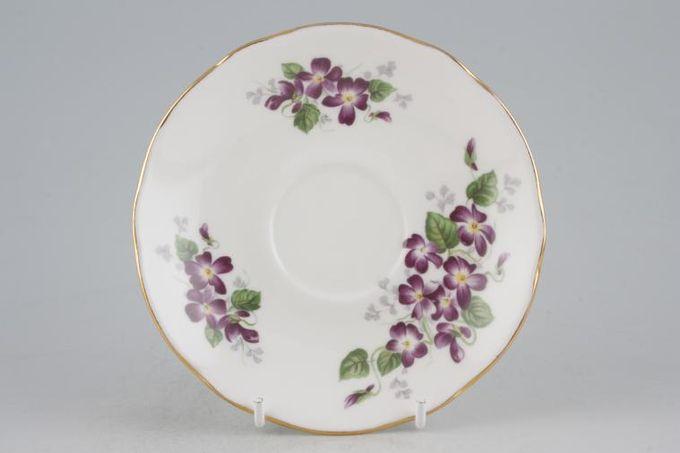 "Duchess Violetta Tea Saucer 5 5/8"""