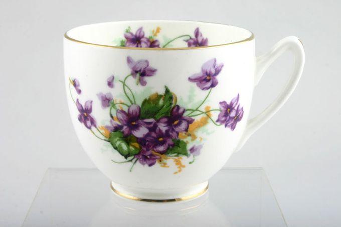 """Duchess Violetta Teacup older style 3 1/8 x 2 3/4"""""""