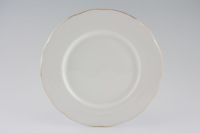 "Duchess Gold Edge Dinner Plate 10 1/4"""